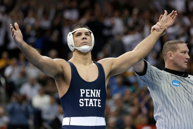 Penn State wins 3rd straight NCAA title, Beavers place 8th