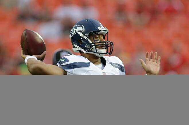 Seattle names Russell Wilson starting QB