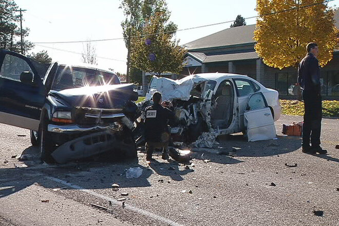 Sheriff: Suicidal woman, 70, crashed head-on into pickup