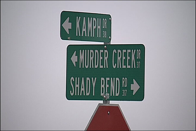Body found near Murder Creek
