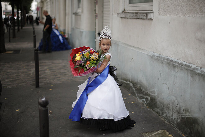 APTOPIX France Child Beauty Pageants