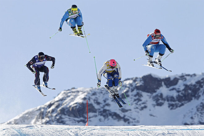 APTOPIX France World Cup Ski Freestyle