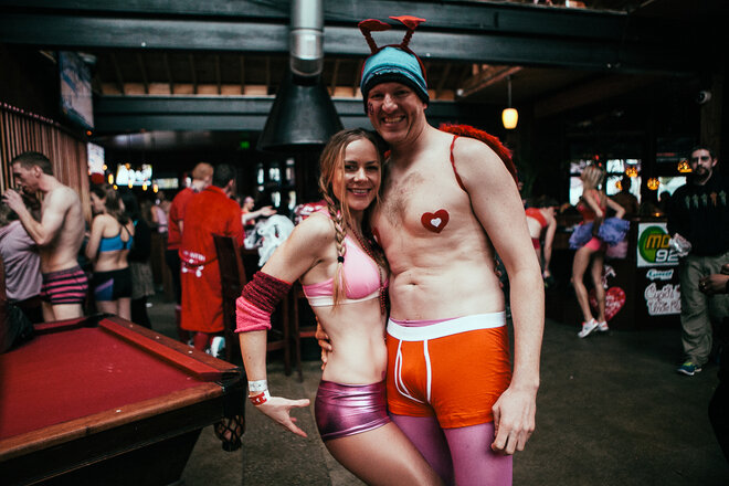 2014 Cupid's Undie Run Seattle