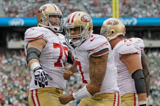 49ers run all over Jets in 34-0 romp
