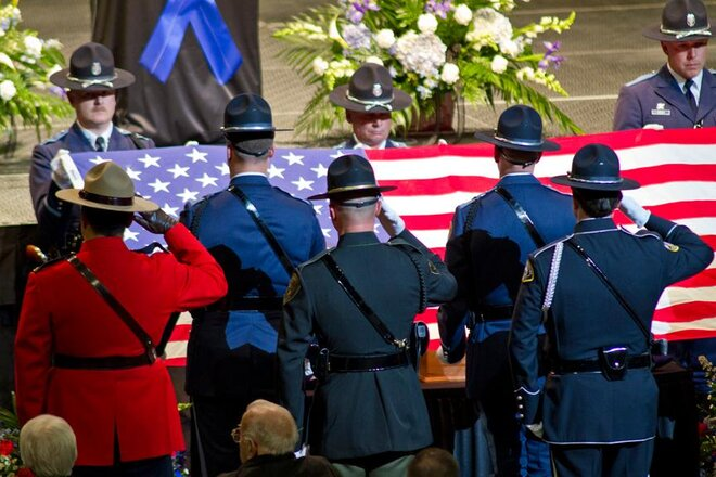 Celebration of Life for Officer Chris Kilcullen