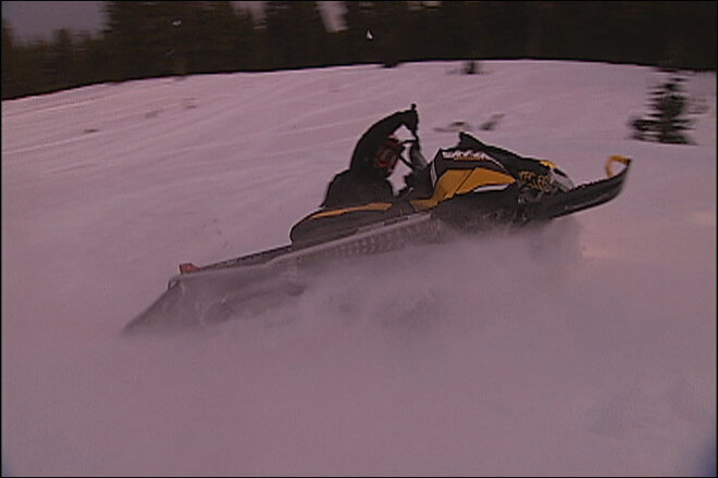 Snowmobiling in Central Oregon (2)