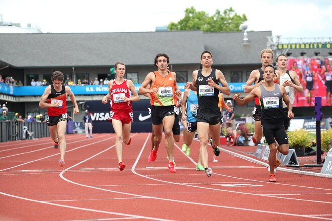 Wheating, Centrowitz, McNamara into 1,500 finals