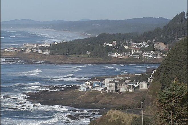 Yachats on the Oregon Coast