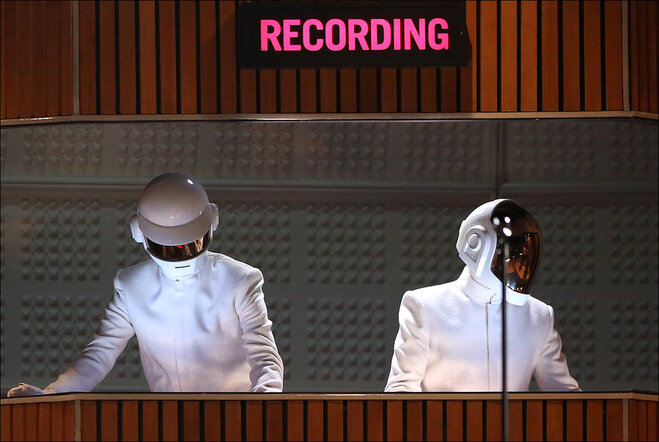 Daft Punk, Macklemore top left-of-center Grammys