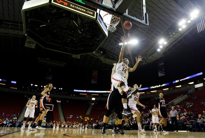 Beavers ousted in 1st round of women's Pac-12 tourney