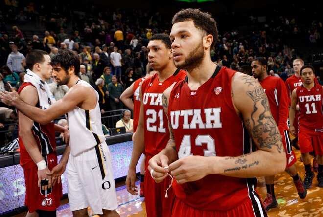 Utah Oregon Basketball