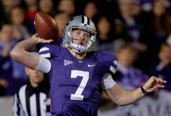 Kansas State's Klein voted AP Big 12 player of year