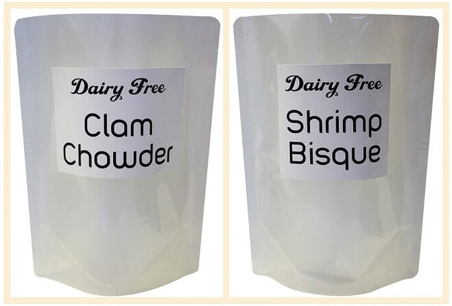 'There is no dairy-free clam chowder'