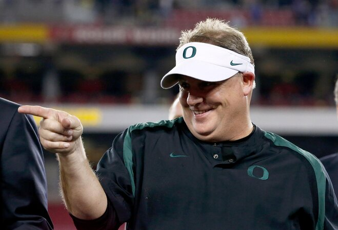 Oregon Sports Awards: Chip Kelly named Slats Gill Sportsperson of the Year