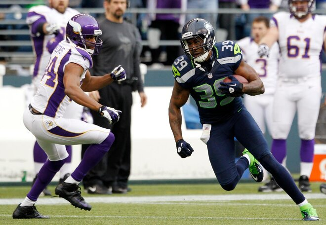 Former Beaver Browner suspended, Former Duck Thurmond to start for Seahawks