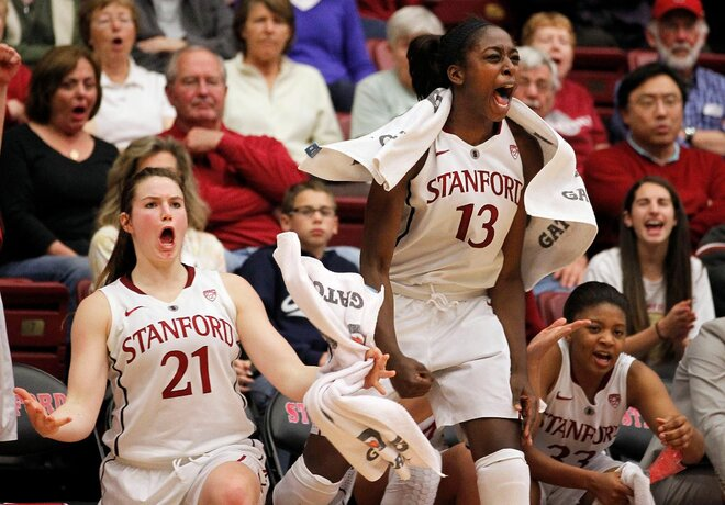 No. 4 Stanford women rout Oregon State 90-53