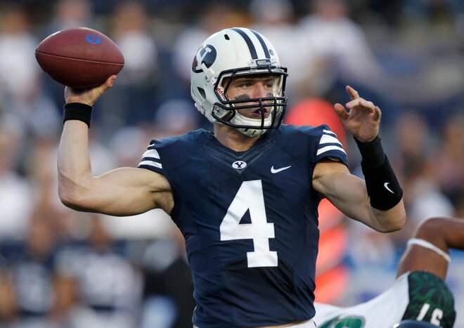 Knee injury shelves BYU quarterback Hill for year