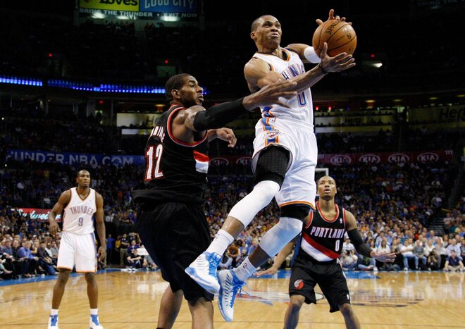 Blazers drop first road game at OKC, 106-92