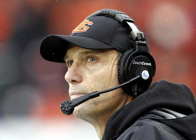 Mike Riley returns 'home' to San Antonio for Alamo Bowl