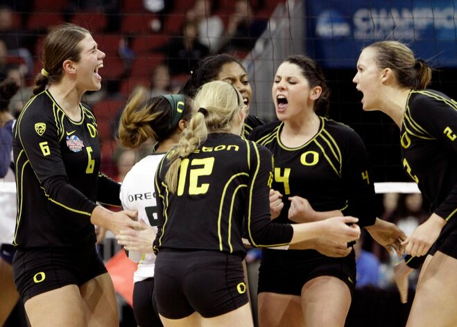 Oregon, Texas meet in NCAA volleyball final
