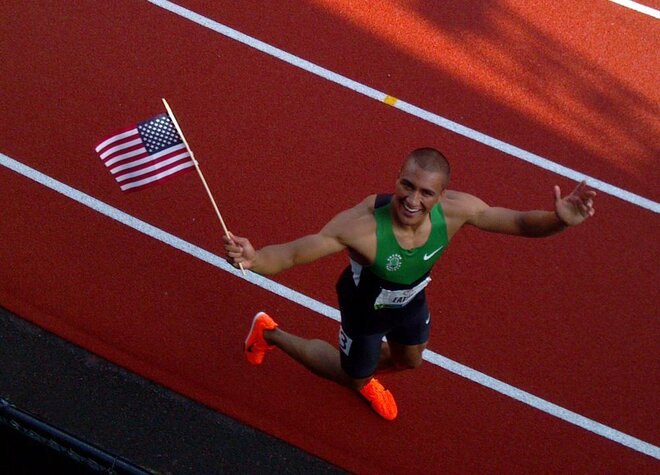 Ashton Eaton by Doug Raschio