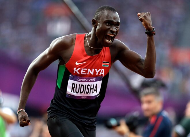 Rudisha out of Pre with injury, Farah will run 5K