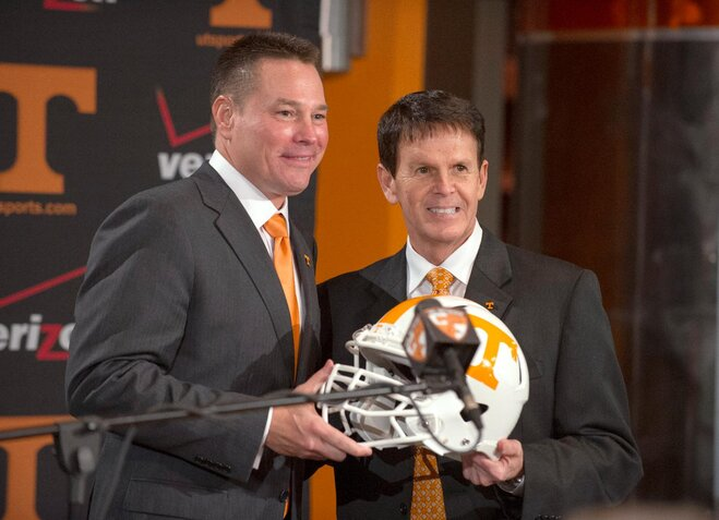 Vols hire Cincinnati's Jones as new football coach