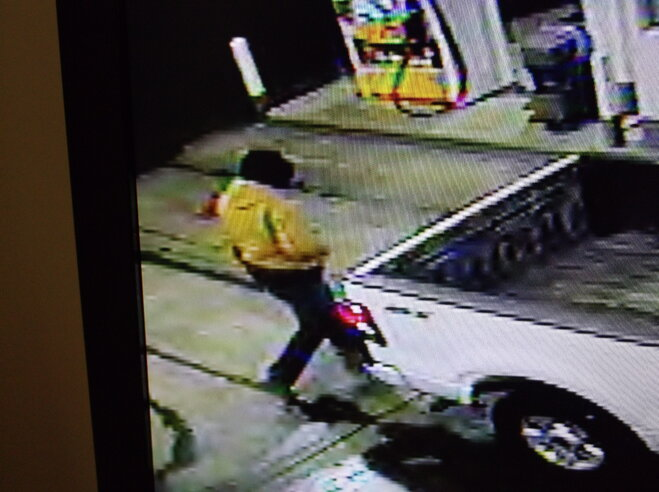 Ripped off at the pump: Masked driver robs gas station at gunpoint