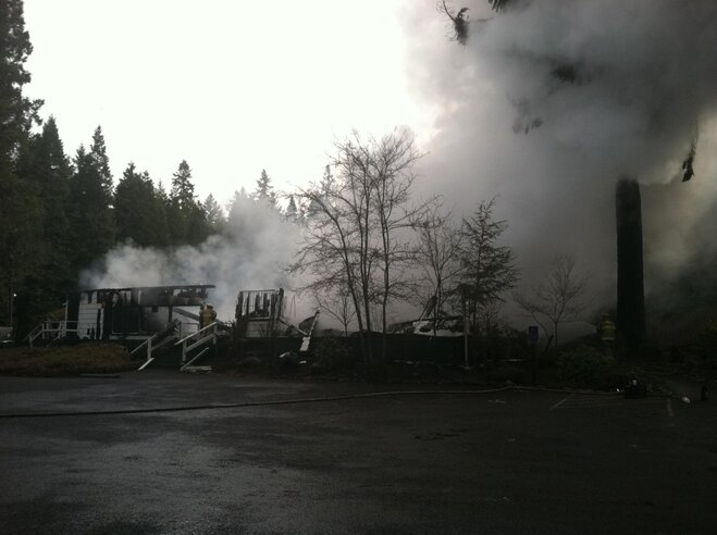 Fire at Holiday Farm Resort on April 2 destroys building (9)