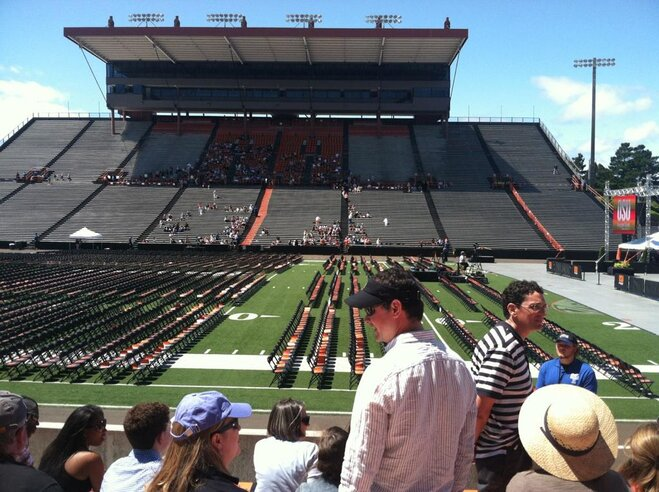 Graduation Day for Oregon State Class of 2012 (1)