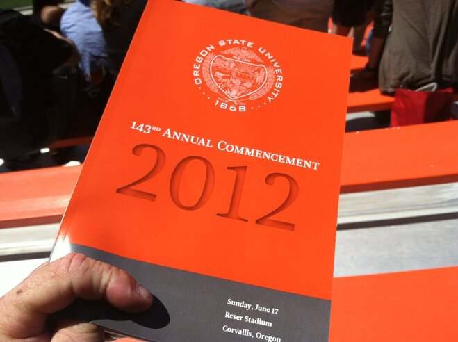 Graduation Day for Oregon State Class of 2012