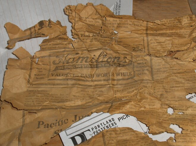Old items found hidden in Albany school walls (3)