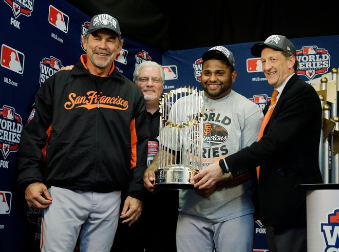 One valuable Panda: Sandoval is World Series MVP
