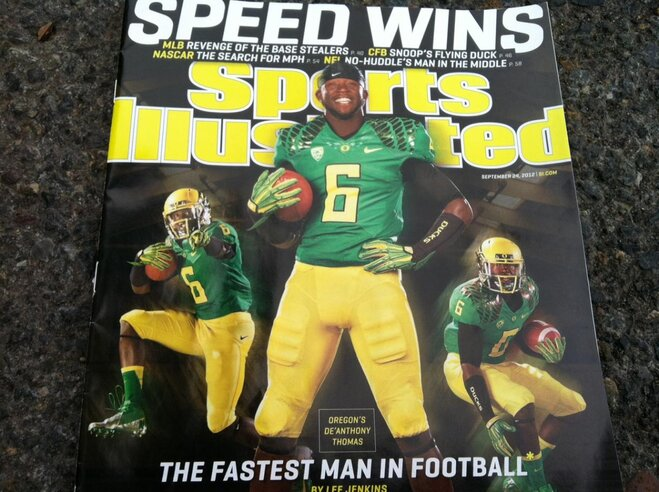 Video: De'Anthony Thomas on Sports Illustrated cover