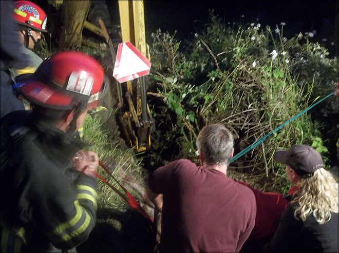 Firefighters rescue horse from well