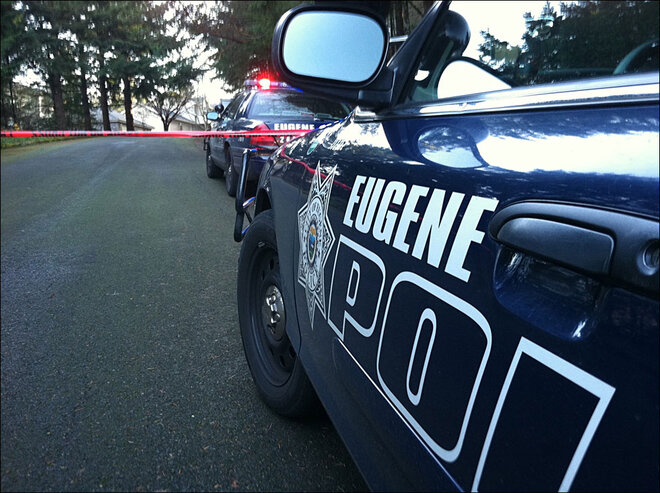 Police cordon off SE Eugene neighborhood February 2