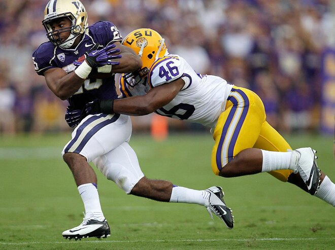 No. 3 LSU runs past Washington, 41-3