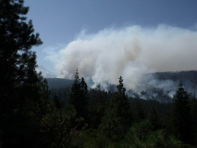 Pole Creek fire