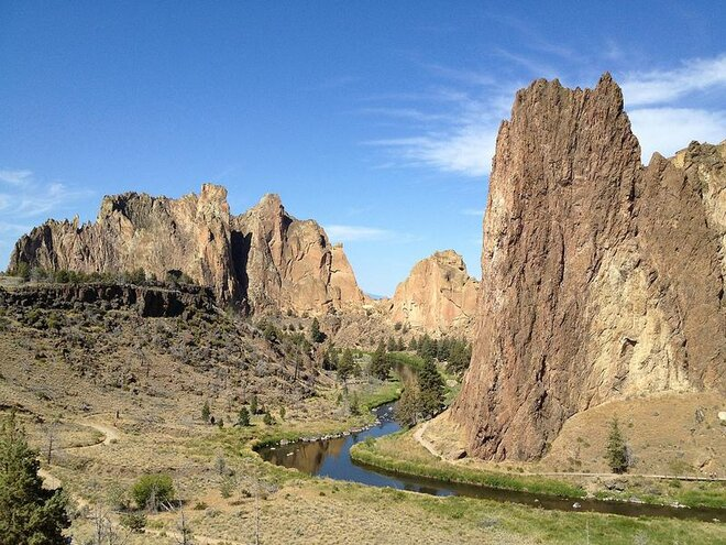 Smith Rock State Park by Carley Luehrs