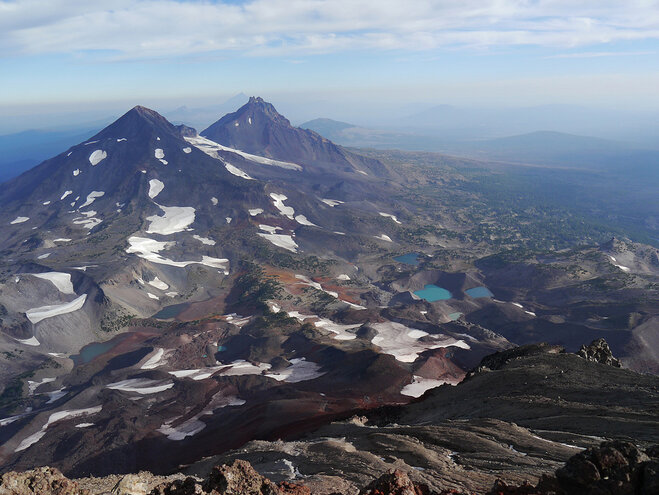 View from South Sister - Alex Bettinardi