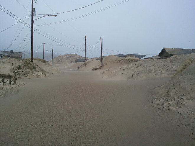 Waldport buried in sand by January 2012 storm (10)