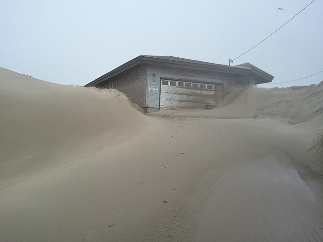 Waldport buried in sand by January 2012 storm (18)