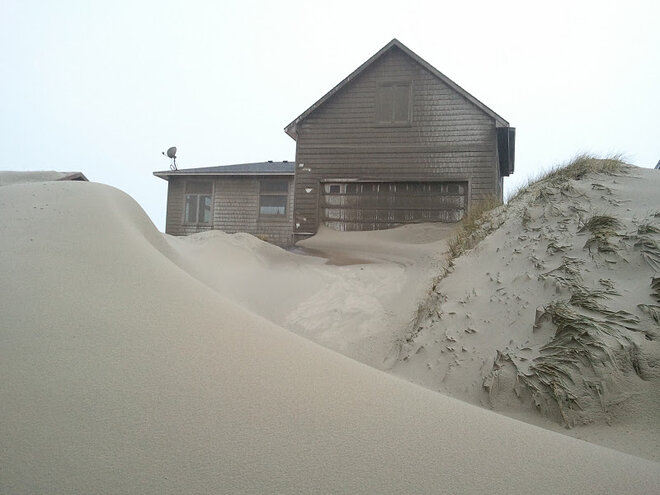 Waldport buried in sand by January 2012 storm (9)