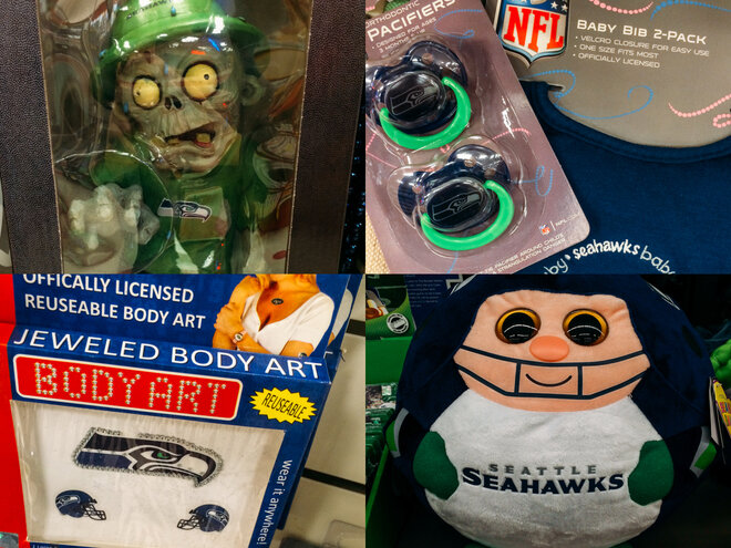 The most creative (and officially licensed) Seahawks merch