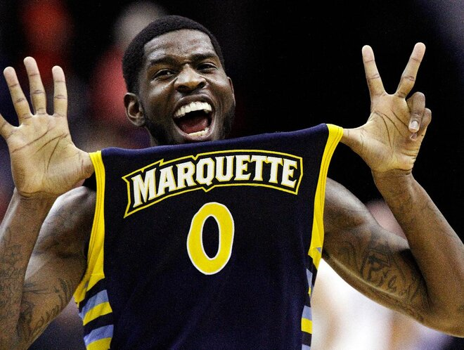 Former Ducks: Jamil Wilson leads Marquette to Elite Eight