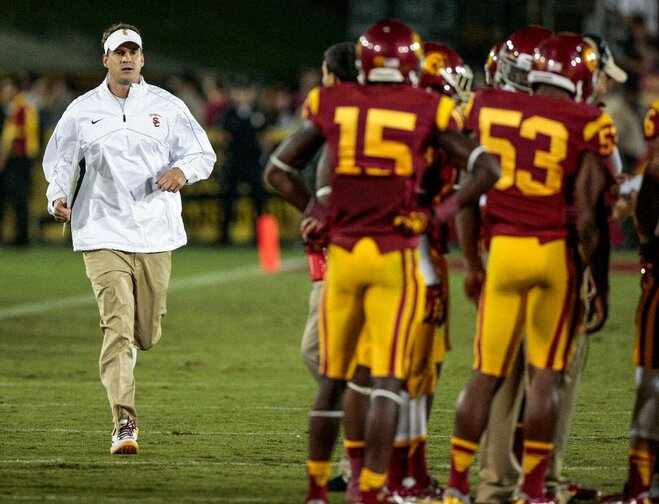 Column: Who took the wind out of Kiffin's sails?