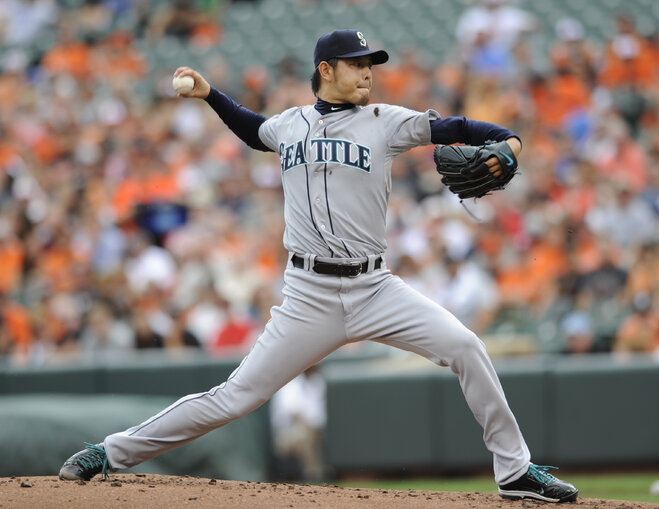 Iwakuma, Mariners drop 1-0 decision to Orioles