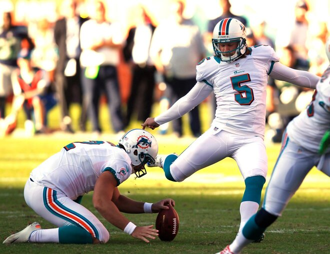 Dolphin field goal drowns Seahawks in Miami