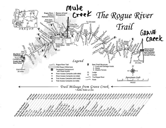 Rogue-River-Trail-closure-map-August-2013