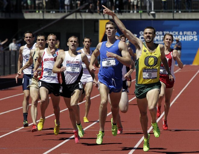 Fleet claims title, Men of Oregon fourth, Women third